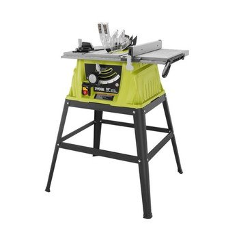 Ryobi 15 Amp 10 inch Table Saw with Steel Stand Review