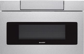 Sharp SMD2470AS Microwave Drawer review