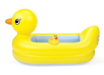 munchkin white hot inflatable safety tub review