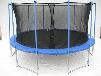 ExacMe 15' Ft 6W Legs Trampoline Review