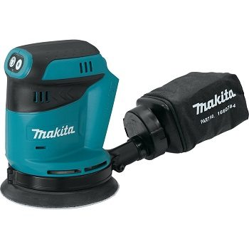 Makita XOB01Z Lithium-Ion Cordless Random Orbit Sander Review