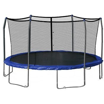 Skywalker SWTC17BWS Oval Trampoline and Enclosure with Wind Stakes (17-Feet) Review