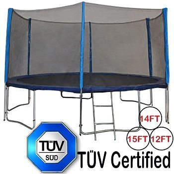 Zupapa 15 14 12 Ft TUV Approved Trampoline Review