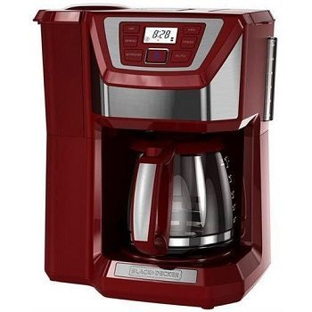 Black & Decker CM5000RD Mill & Brew Programmable 12-cup Coffee Maker Review