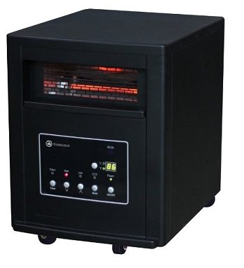 Homegear Pro 1500w Large Room Infrared Space Cabinet Heater Review