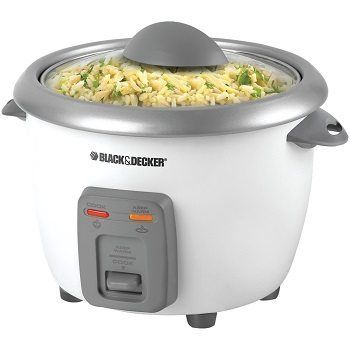 Black & Decker RC3406 3-Cup Dry 6-Cup Rice Cooker and Steamer Review