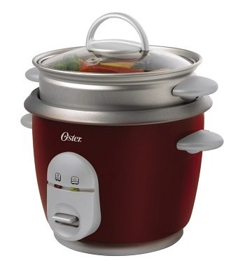 Oster 4722 3-Cup uncooked resulting in 6-Cup cooked Rice Cooker with Steaming Tray Review