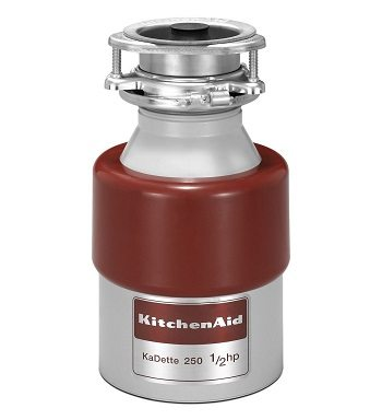 Kitchen Aid KCDB250G 1 half HP Continuous Feed Garbage Disposal Review