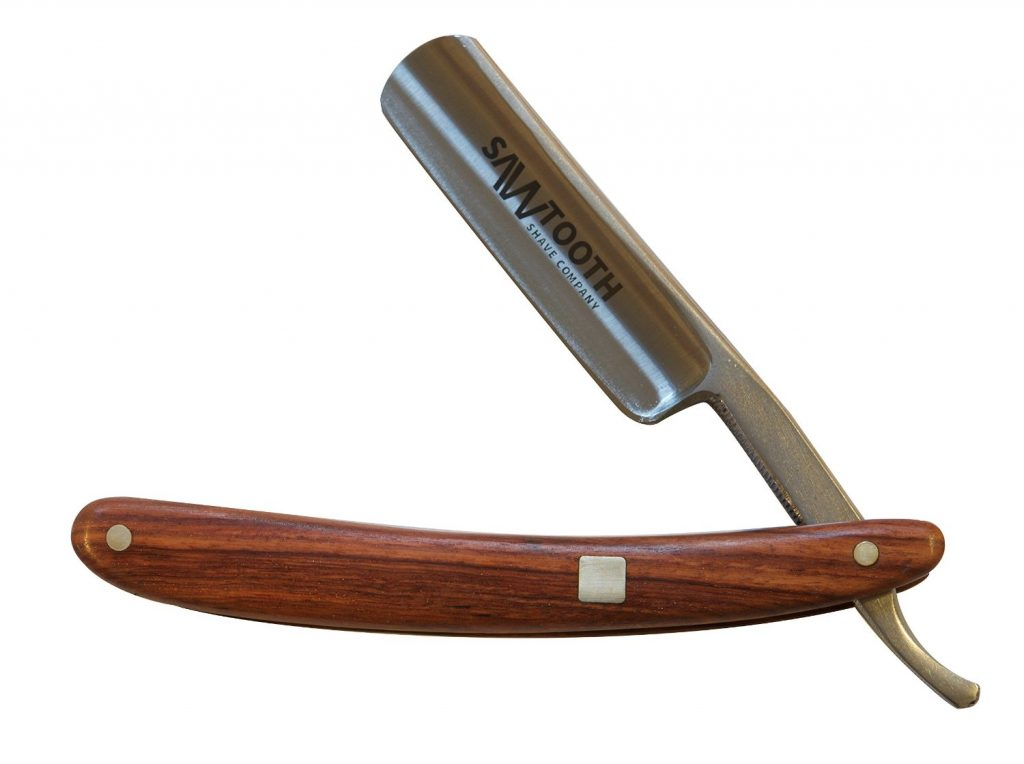 Sawtooth Shave Co. Straight Razor - Real Wood Handle Review