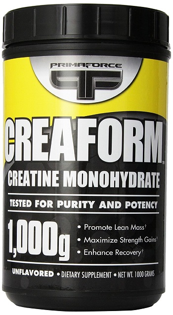 Primaforce Creaform Creatine Monohydrate, 1000 g (1 kg) Review